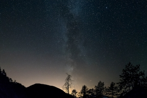 Vialattea da Tramonti  /  Milky way from Tramonti