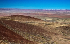 Painted Desert from Doney Mountains - Wupakti NM