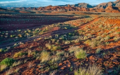 Ultime luci a Mexican Hat  -  Last lights - Mexican Hat