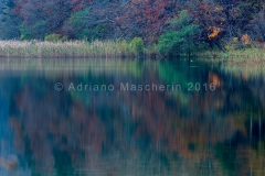 Lago Proscansko in autunno - Proscansko lake i n fall time