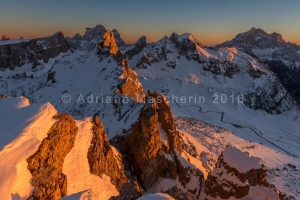 Tramonto dal Nuvolao - Sunset from Nuvolao mountain