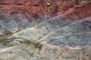 Colours and patterns - Burr Trail