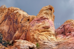 White Dome faccia - Valley of Fire State Park